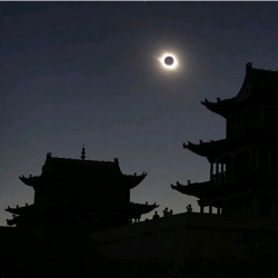 the solar eclipse seen from around the world