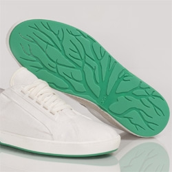 Oat Shoes have great tree graphics on their soles.