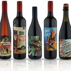 Very cool packaging from Wine by Some Young Punks, out of Australia. Great website too!