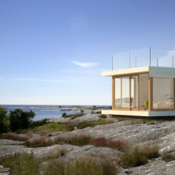 Sommarnöjen (summer pleasures) has teamed up with three of Sweden's best architectural firms to create a series of 15 square meter houses that can be built in Sweden without building permits.