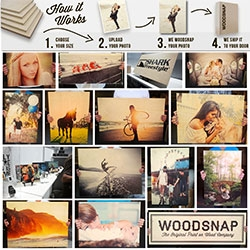 Woodsnap ~ turn your photos into wood prints!