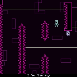 VVVVVV Beautifully Retro game for windows and mac