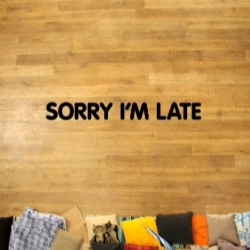"""Sorry I'm Late"". Really impressive stop-motion directed with patience and talent by Tomas Mankovsky."