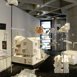 Beautiful exhibition at the Watri Museum of Contemporary Art by Sou Fujimoto called 'Forest, Cloud, Mountain'.