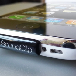 Ten One Design has an $8 little ad-on for the iPhone that amplifies the sound and makes it sound better.