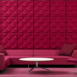 "We present acoustic panels ""Soundwave Flo"" designed by the great Karim Rashid in collaboration with Teppo Asikainen..."