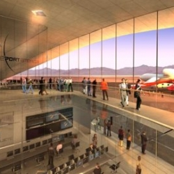 """Richard Branson's Virgin Galactic """"Spaceport"""" finally gets the go ahead. Influx of illegal aliens is expected."""