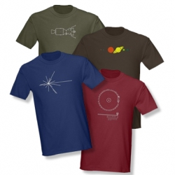 Celebrate Voyagers 30th anniversary with this selection of Space Tees