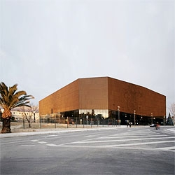 Spaladium Center in Split, Croatia. A  handball arena for 12,000 spectators, which also includes a wellness center, a sky bar and an exclusive restaurant on the top floor overlooking the city.
