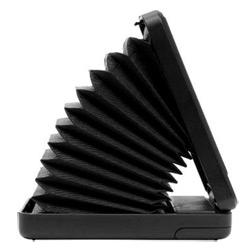 Accordion style portable speakers