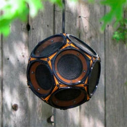 A Dodecahedron Speaker for Desktop Printers! (you can DIY it!)