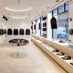 The new flagship store of Spencer Hart, situated in a former bank in Mayfair, London. Designed by Shed.