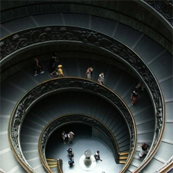 A collection of stunning spiral staircases from around the world.