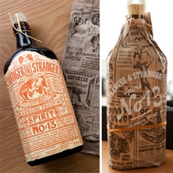 Stranger & Stranger's Spirit No. 13 is here! And the packaging is beyond lustworthy ~ so detailed... from the ads on the brown paper bag... to the apothecary inspired label!