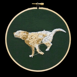 This animated needlework is amazing! By Aubrey Longley-Cook.