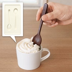 Muji Silicone Spoon Mold ~ for ice, chocolate,... get creative!