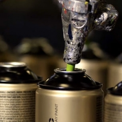 How a can of Montana spraypaint is made
