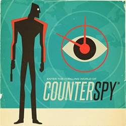 CounterSpy by Dynamighty is beautiful. A 2.5D ( between 2D and 3D) cold war side scroller that is now on PS4, PS3, PS Vita, iOS, and Android. (I love it on a huge screen so you can see all of the amazing graphics details!)