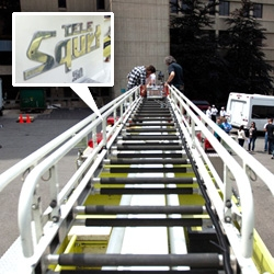 Firetruck climbing! TELE-SQURT! And a look at the NOTCOT philosophy on press trips and products that come our way...