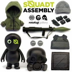Squadt Assembly is coming to Rotofugi. An amazing pop-up shop that will let you build your own custom Squadt! (Online folks get a chance at what's left after) The options are pretty incredible...