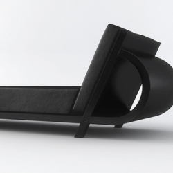 French designer Vincent Cadena's E_Bench has super sleek, modern lines and is guaranteed to look fabulous in any loft.