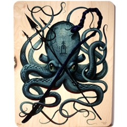 Sea No Evil Jeff Soto signed and numbered edition of a 100, FSC Certified Wood Prints