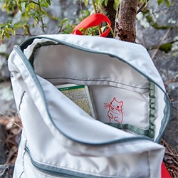 On great details... Alite's Squirrel Mini Pack has a squirrel printed inside!