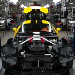 The New York Times Magazine takes a look inside the newly reopened Chrysler plant in Detroit where the Dodge Viper SRT is built.