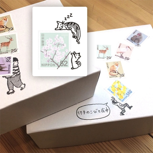 Kobito Stamps! Adorable rubber stamps that give context to your postage stamps!