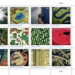 USPS Earthscape Stamps are gorgeous!