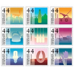 Reluct highlights the new Dutch stamps designed by Staat - highlighting great dutch design classics