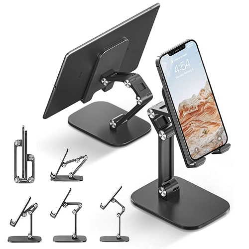 NOTCOT favorite phone/tablet stand for vidchats and toddler video viewing. I love this cheap little plastic phone/tablet stand so much, i've bought 4 for us and as gifts so far! We use it on the kitchen island, tables, couch, inside forts...