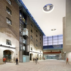 Stanton Wiliams' new UAL Campus for Central Saint Martins at King's Cross.