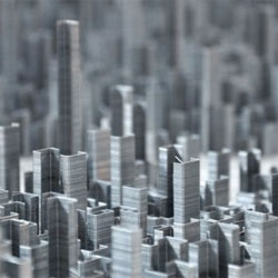Colossal's great roundup of amazing structures made from staples.
