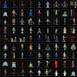 My Star Wars Collection | The collection of the artist Joshua Budich, has more than 600 pictures of characters from Star Wars, forming a beautiful database on the films of George Lucas.