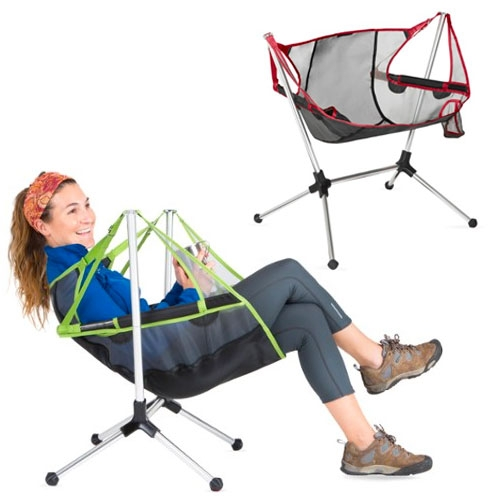 NEMO Stargaze Recliner Chair - part rocker, part recliner, part swing? A portable camp chair!