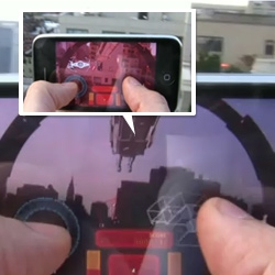 Test footage from an early version of Star Wars Arcade: Falcon Gunner, the first Augmented Reality Star Wars game.
