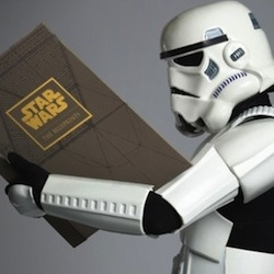 250 blueprints created for the Star Wars trilogy packed into an epic sized book, by J.W.Rinzler.