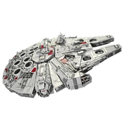 """...The biggest, most spectacular LEGO Star Wars model ever!"" with over 5000 pieces, and a price ticket that can buy you a small computer... id hope its awesome. even if youre not a star wars fan, who wouldnt want to build it?"