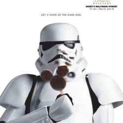 Awesome series of adverts for Star Wars week-ends at Disney
