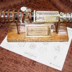 Steampunk lightsabre. How rad is that?