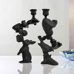 Stephen Johnson's Wonderland Candleholders.