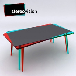 Stereovision table by John Nouanesing