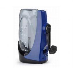 The Steripen Sidewinder is a great little hand powered water purifying device.