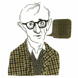 Swedish Stina Wirsén is a talanted illustrator most know for her editorial work for newspaper Dagens Nyheter. I think her portrait work is  most special, my favorite is her illustration of Woody Allen.
