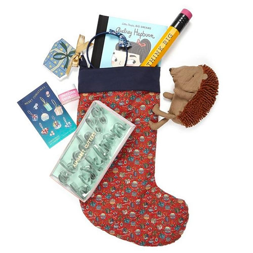 Little Liberty Filled House of Gifts Christmas Stocking 2019 - three adorable stockings from Liberty London filled with a great curation of goodies!