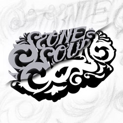 Ornate lettering goes from sketch to 3D to vector.  See how it's done.