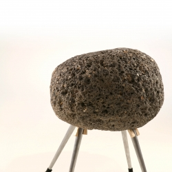 sadeh halbrecht's stool - Sustainable: use, reuse, back to natural environment, and questions the border between nature and in-house environment. by
