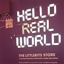 Adafruit gives us a peek inside the pop up LittleBits Store in SoHo!