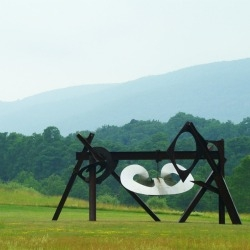 Located just an hour north of NYC, the 500-acre Storm King Art Center is home to more than 100 pieces of sculpture and land art from the most renowned post-war artists, like Mark di Suervo.